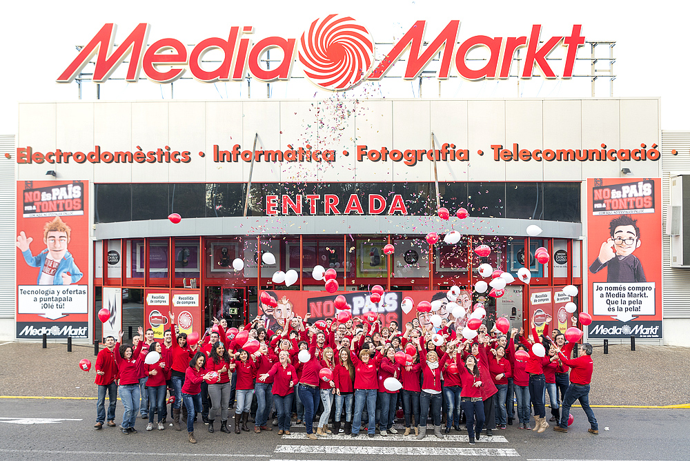 media markt girona kamaleeon disseny gr fic web fotografia i cursos. Black Bedroom Furniture Sets. Home Design Ideas